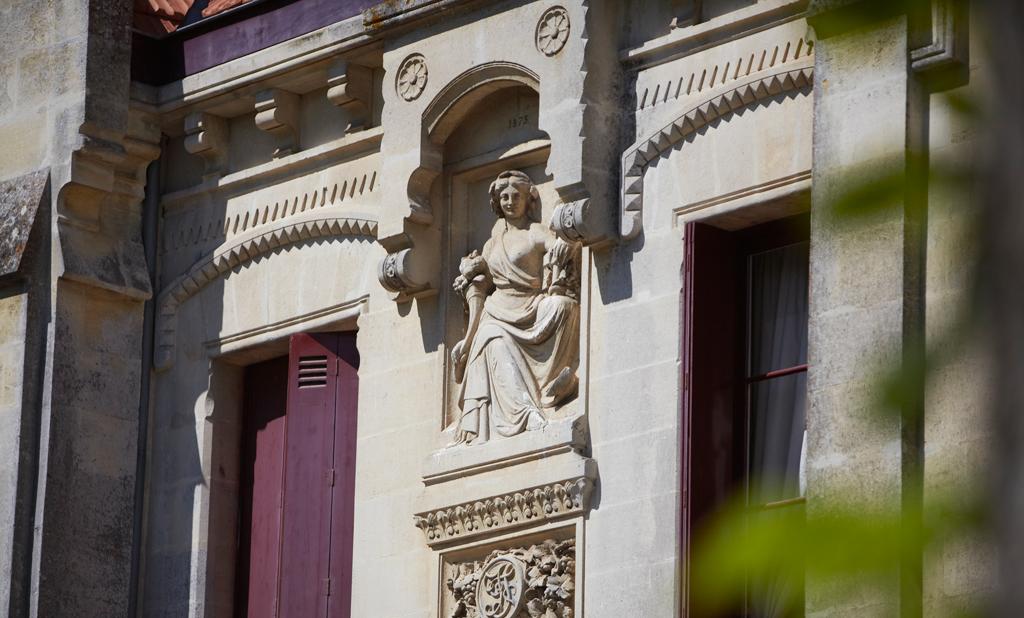 Façade Château Lavergne Dulong