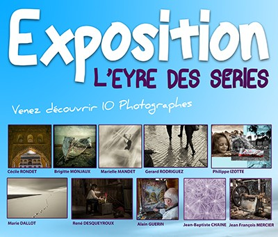 Illustration -Exposition de photos