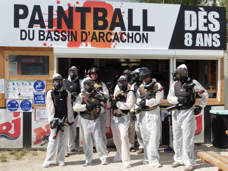 Paintball du Bassin Top Gun Evasion