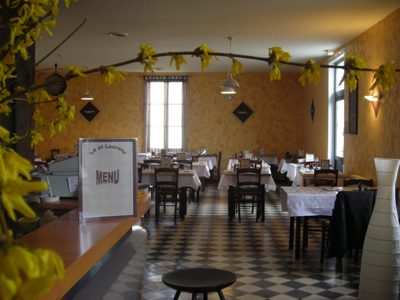 salle restaurant Le Saint-Laurent /