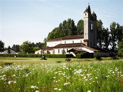 Escaudes - église