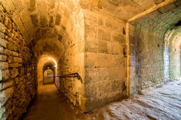 Guided tour of the Citadel of Blaye via its underground passages + wine tasting at Carré Vauban