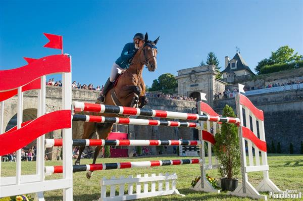 International Springreiten in Blaye